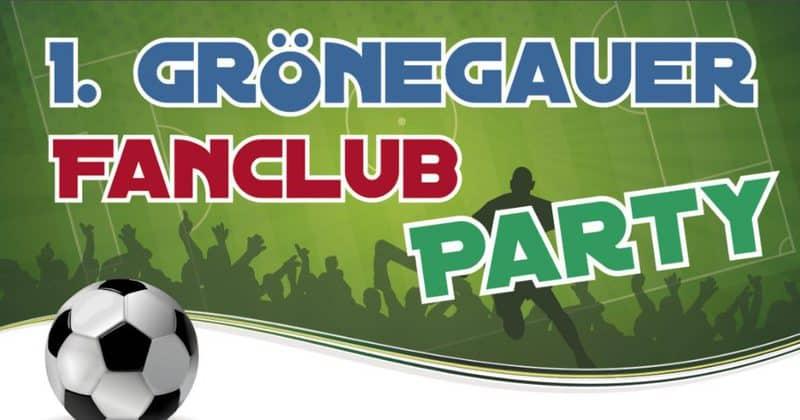 Fanclub Party Flyer
