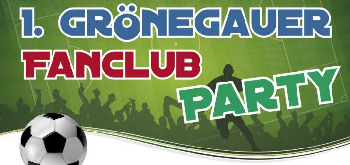 Banner 1. Gönrgauer Fanclub Party