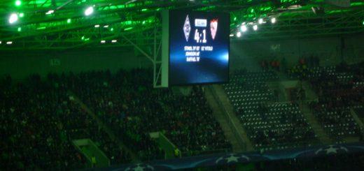 Borussia Mönchengladbach gegen FC Sevilla