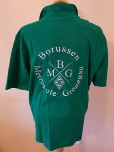 Polo-Shirt grün, Rückseite